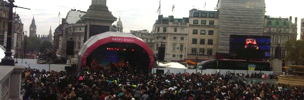 Diwali at the Square
